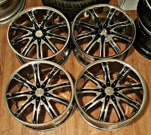 20 inch Decent Rims for Sale in Houston, TX