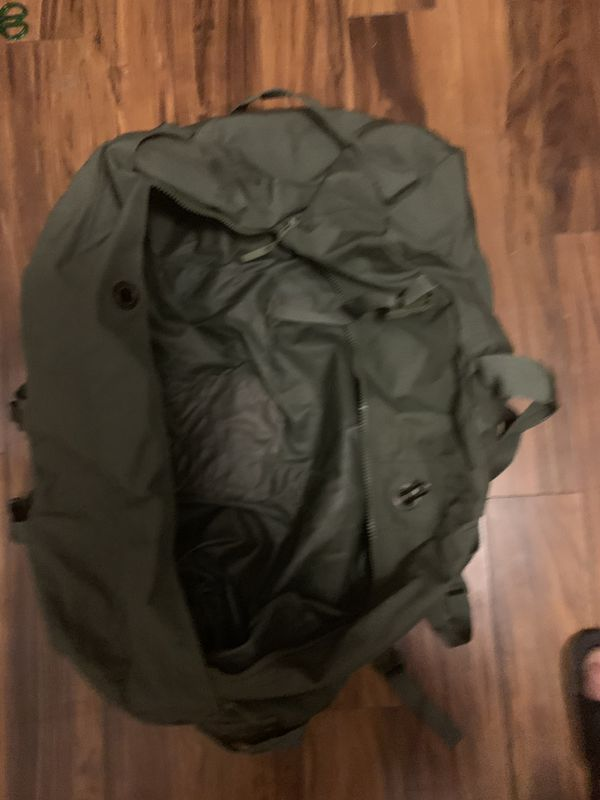 Army green duffle bag $8 low price