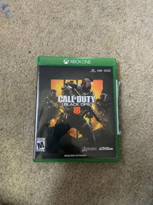 Call of Duty black ops4 disk for Sale in Laurel, MD