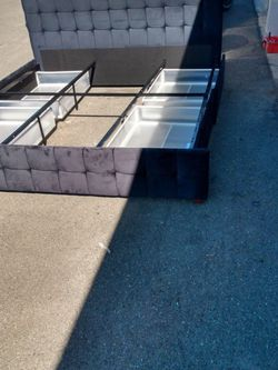 Bed Frame With head Board And Drawers for Sale in Riverside,  CA