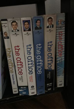Free The Office DVDs 1-6 - msg for address for Sale in Garden Grove, CA