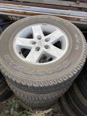 Jeep Wrangler stock wheels & tires for Sale in Grand Terrace, CA