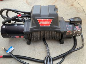 Warn VR12-S Winch 12000 Pound Rating for Sale in Gardena, CA