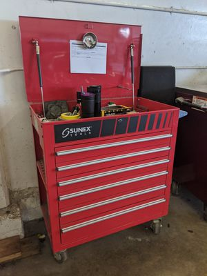 Sunex 6 Drawer tool box for Sale in Portland, OR