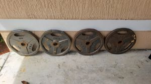 Olympic Weights | Four 45 Pound Weight Plates for Sale in Miami, FL