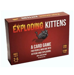 EXPLODING KITTENS Card Game, Card Games for Adults, Teens and Kids,Brand New for Sale in Chicago, IL