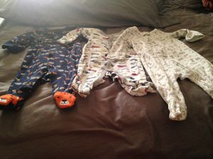 Baby boy night clothes for Sale in Port St. Lucie, FL