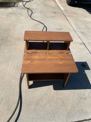 Kids Desk Solid Wood well taken care of for Sale in Santa Fe Springs, CA