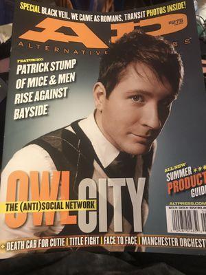 Alternative Press Magazine, Owl City, Issue #275 for Sale in Murfreesboro, TN