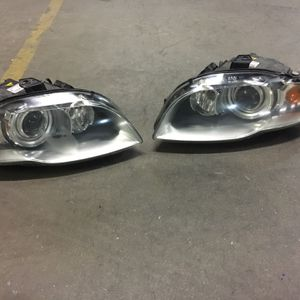 Audi A4 Headlights Xenon Hid Oem Fits Year 2006-2009 for Sale in South Gate, CA