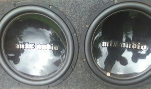 Mtx audio 15in subs for Sale in St. Louis, MO
