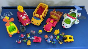 Little people toys and vehicles for Sale in West Chicago, IL