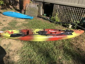 Pescador 120 kayak red, yellow and black, 12 foot for Sale in Westerville, OH