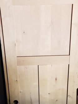 Wood Door Brand New Never Used for Sale in Prineville,  OR
