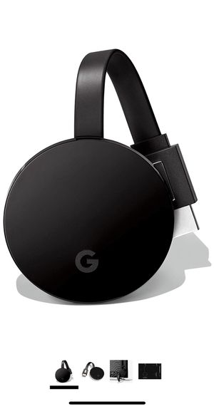 Google Chromecast Ultra for Sale in St. Cloud, FL