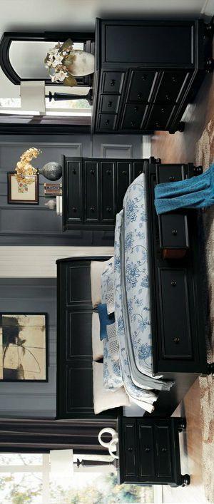 🧿BRAND NEW 🧿Laurelin Black Storage Platform Sleigh Bedroom Set for Sale in Jessup, MD