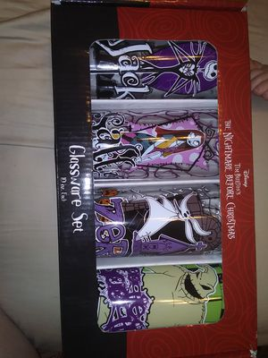 Nightmare before Christmas cups for Sale in Phoenix, AZ