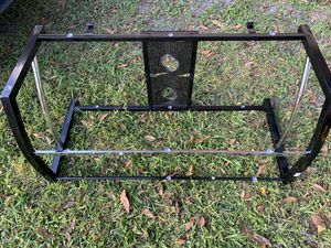 Glass t.v stand for Sale in Bowling Green, FL