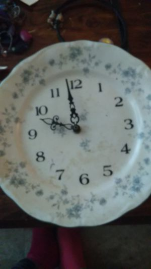 Antique, plate clock for Sale in Dayton, OH