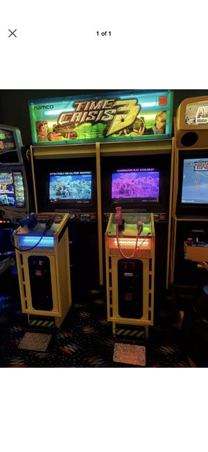 Time Crisis 3 arcade game for Sale in Moreno Valley, CA