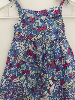 Faded glory girl dress flowers, organic cotton, 3T. for Sale in Sunnyvale,  CA