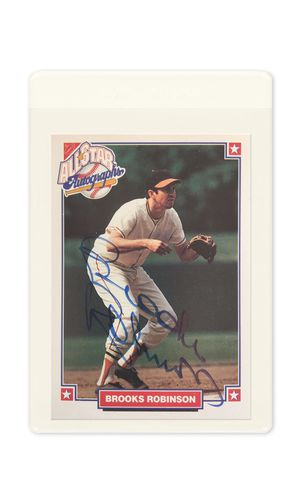 Brooks Robinson Autographed All-Stars MLB Trading Card for Sale for sale  Mount Olive Township, NJ