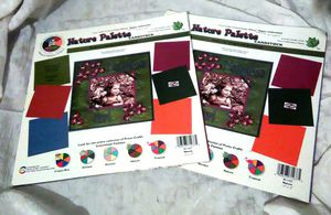 Provo Crafts Nature Palette Color Wheel Cardstock Paper Pad Scrapbooking 12 x 12 for Sale in Largo, FL