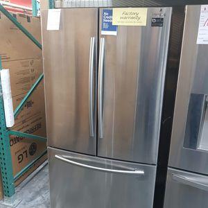 3-Door Refrigerator with Ice Maker for Sale in Hacienda Heights, CA