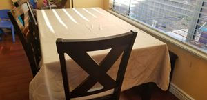 6 leather seat Dining Table for Sale in Milpitas, CA