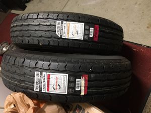 2 brand new trailer tires for Sale in Beaumont, CA