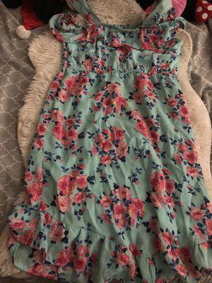 Flower 🌸 dress for girls size: 14/16 XL for Sale in San Bernardino, CA