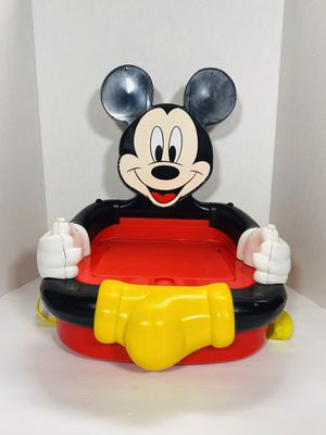 Vintage Mickey Mouse Collapsable Booster chair! (1994) for Sale in Stockton, CA