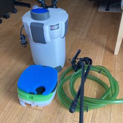 Sunsun Model Hw-304B With UV Light For Up To 150 Gal Aquarium for Sale in Frederick,  MD