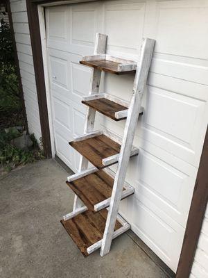 Rustic ladder shelf for Sale in Villa Park, IL