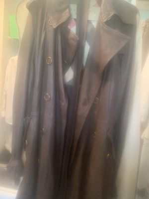 Burberry Leather Jacket for Sale in Virginia Beach, VA