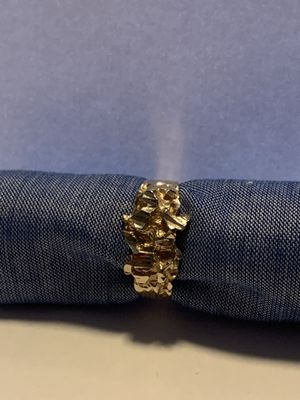 14k gold nugget ring for Sale in San Leandro, CA