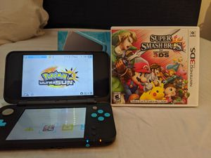 Nintendo 2ds XL with 2 games for Sale in West Haven, CT