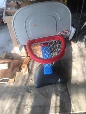 Little tikes basketball hoop for Sale in Naperville, IL