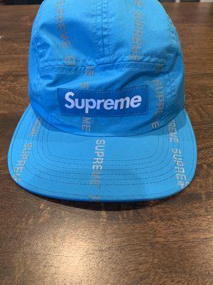 supreme blue reflective hat for Sale in Arlington, VA