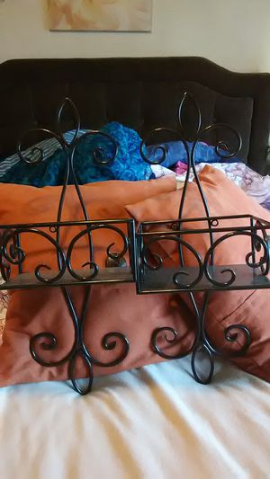 Set of 2 wall-hangings with shelves for Sale in Sumner, WA