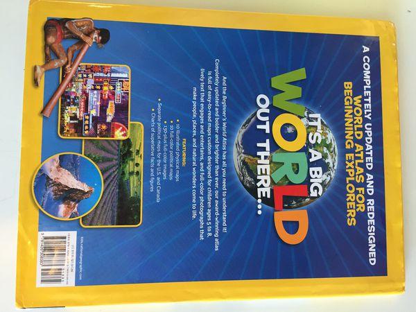 World Atlas Book for kids