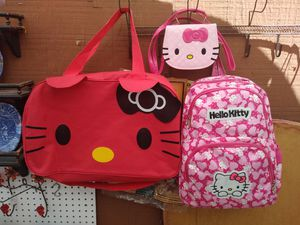 NEW! HELLO KITTY BACKPACK, TOTE BAG AND PURSE! for Sale in Las Vegas, NV