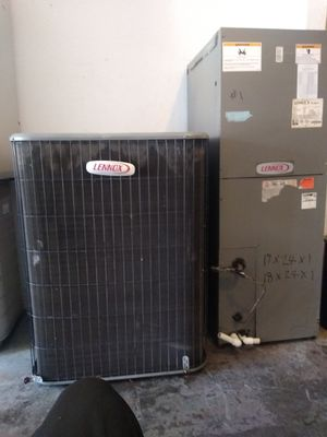 AC unit with air handler 5 ton good 500 to best offer for Sale in Bay Lake, FL