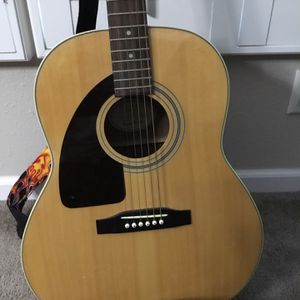 Left Hand Guitar. Epiphone Made By Gibson. for Sale in Bonita Springs, FL