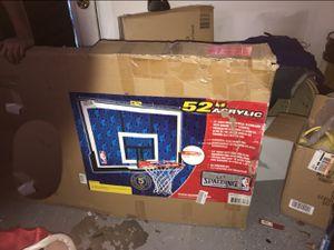 "52"" Acrylic basketball hoop brand new for Sale in Orlando, FL"