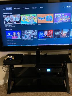 "LG 55"" Inch TV w/ TV Stand for Sale in Forestville,  MD"