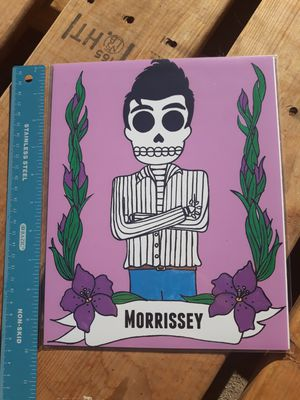 "Morrissey Day of the Dead 8""x10"" Print for Sale in Los Angeles, CA"