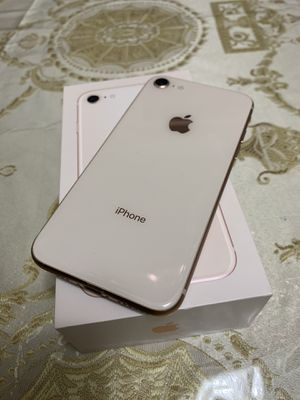 **Iphone 8 in box with new headphones and charger** for Sale in Kearny, NJ
