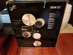 **New** First Act Drum Set in box! for Sale in Newcastle, WA