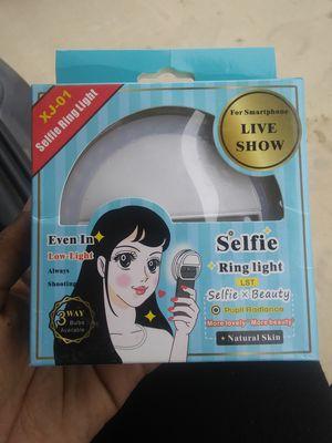 Selfie Ring Light for Sale in San Bernardino, CA